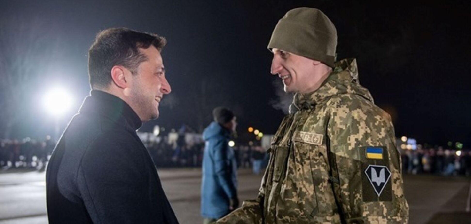 Зеленський на обмін полоненими 29 грудня