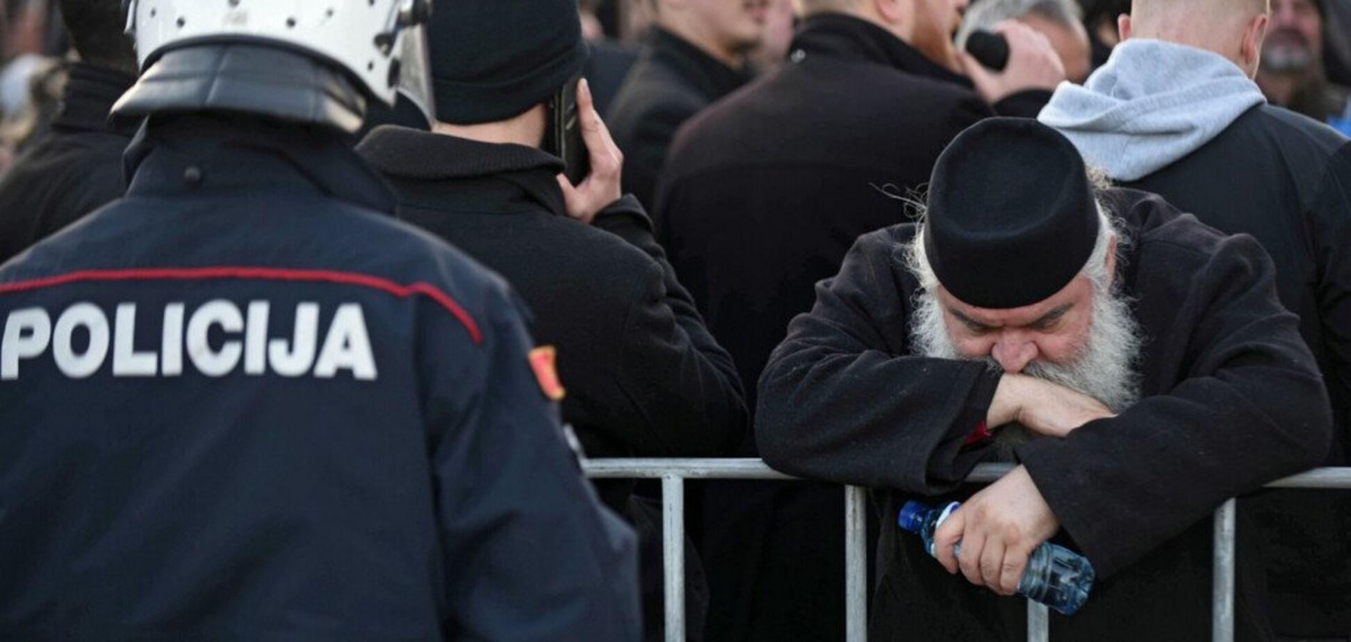 Чорногорію охопили 'церковні' протести: РПЦ заявила про 'цинічний удар'
