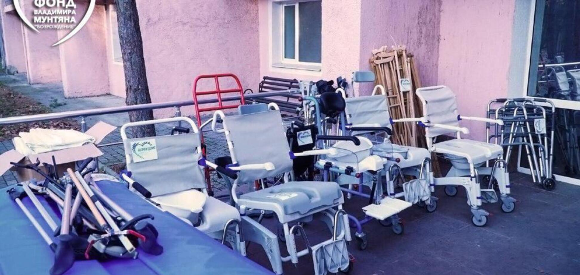 Благотворительный фонд Мунтяна оказал гуманитарную помощь киевскому дому-интернату для детей с инвалидностью