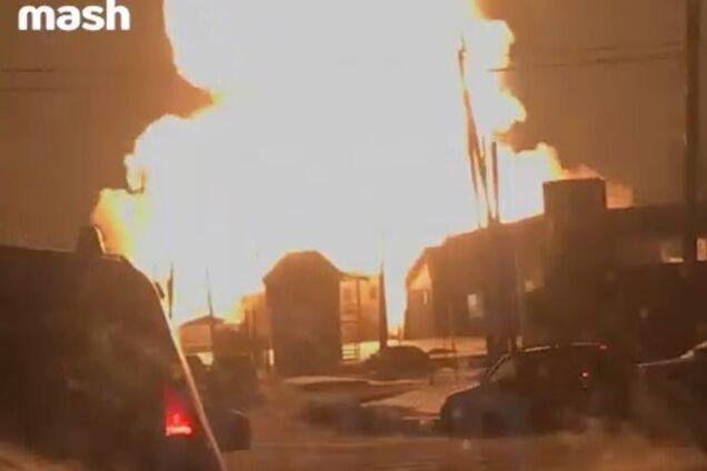 В России взорвалась газовая АЗС