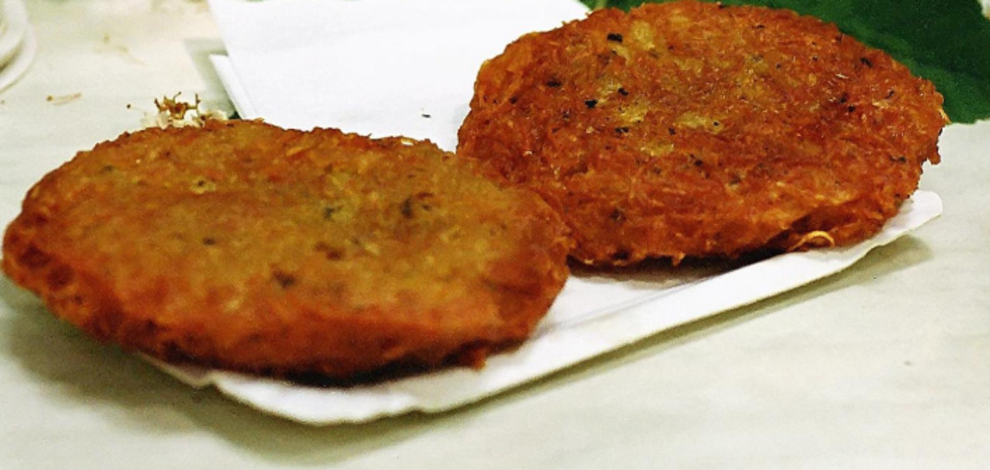Рецепт казково смачних дерунів з фаршем