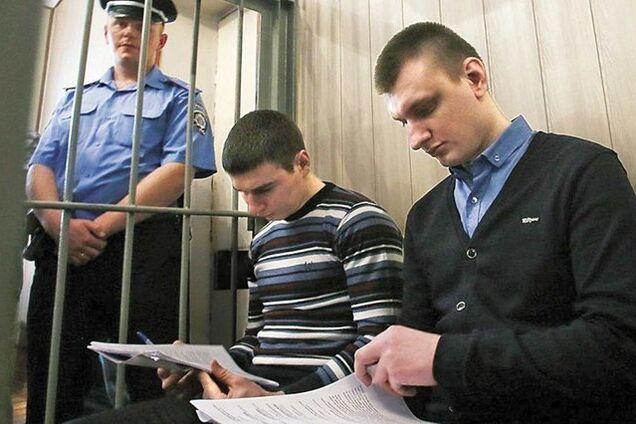 Колишні беркутівці на судовому засіданні