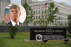 Уезжающий из Киева американский дипломат обратился с мощной речью. Видео