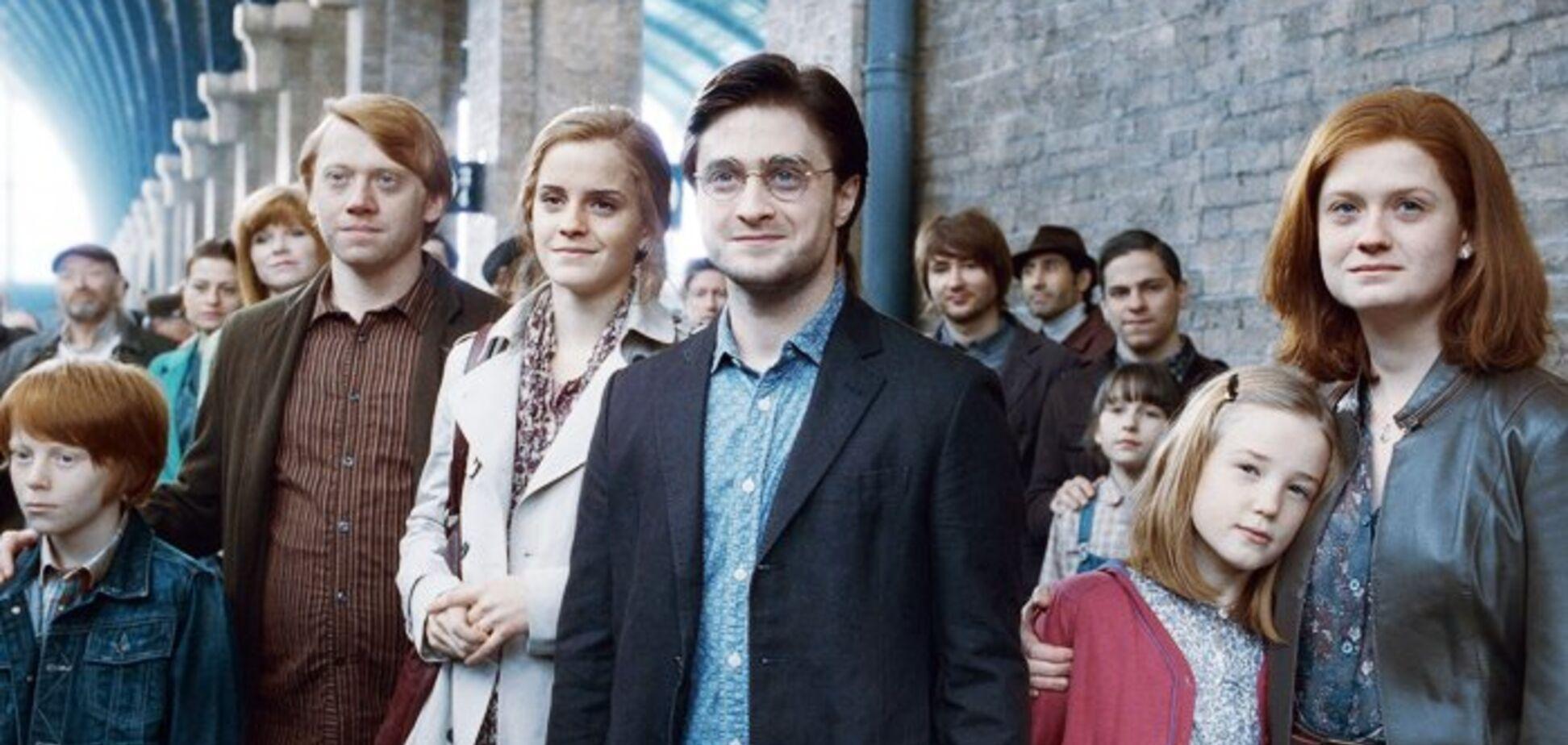 Кадр из фильма 'Гарри Поттер и Дары смерти'