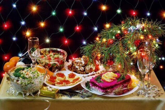 Новый год - как не переесть бутербродов с икрой