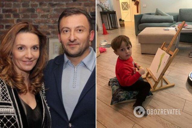 В'ячеслав Соболєв і його дружина Інна, а також син Олександр