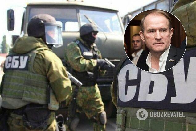 СБУ подтвердила обыски в фирме под контролем Медведчука