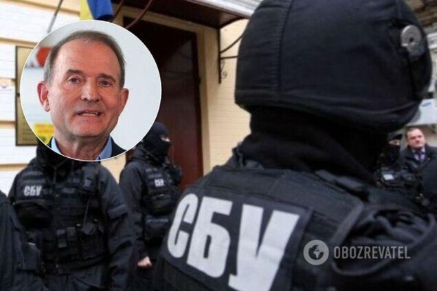 Затримано особистого охоронця Медведчука: деталі обшуку СБУ