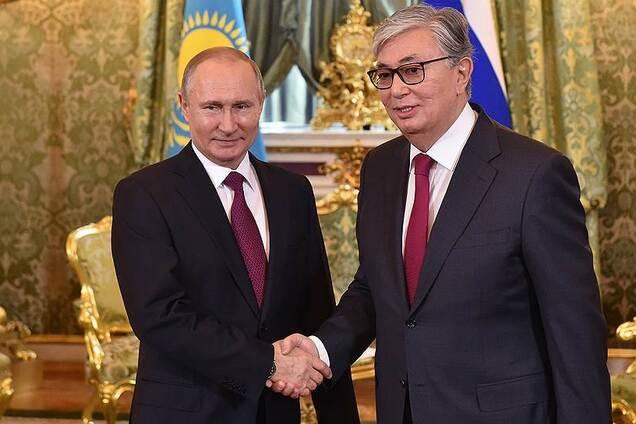 Путін і Токаєв
