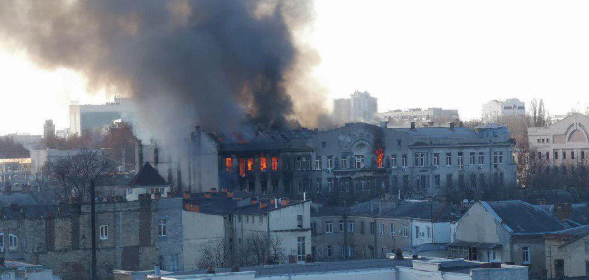 Смертельный пожар в Одессе: число пострадавших возросло, пропали 13 человек