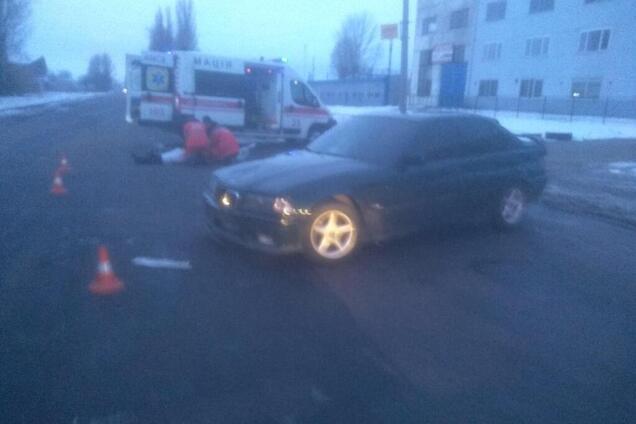 В Черкассах автомобиль сбил пенсионерку