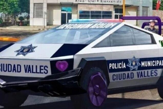 Поліцейський електромобіль Tesla Cybertruck