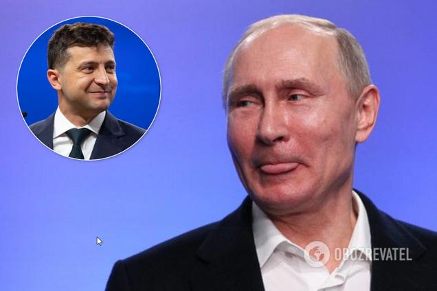 Зустріч Зеленського з Путіним