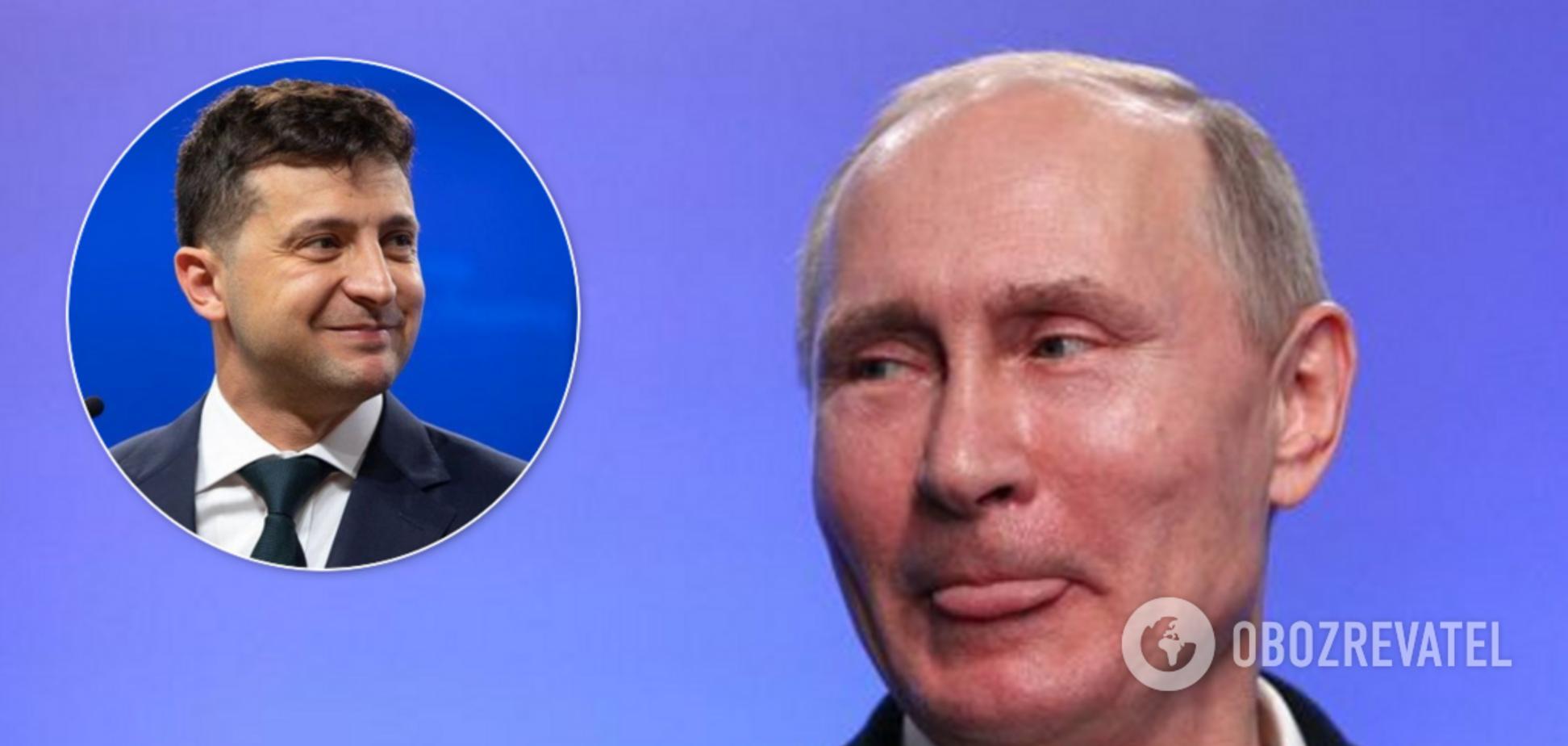 Зеркаль назвала головну мету Путіна на зустрічі із Зеленським