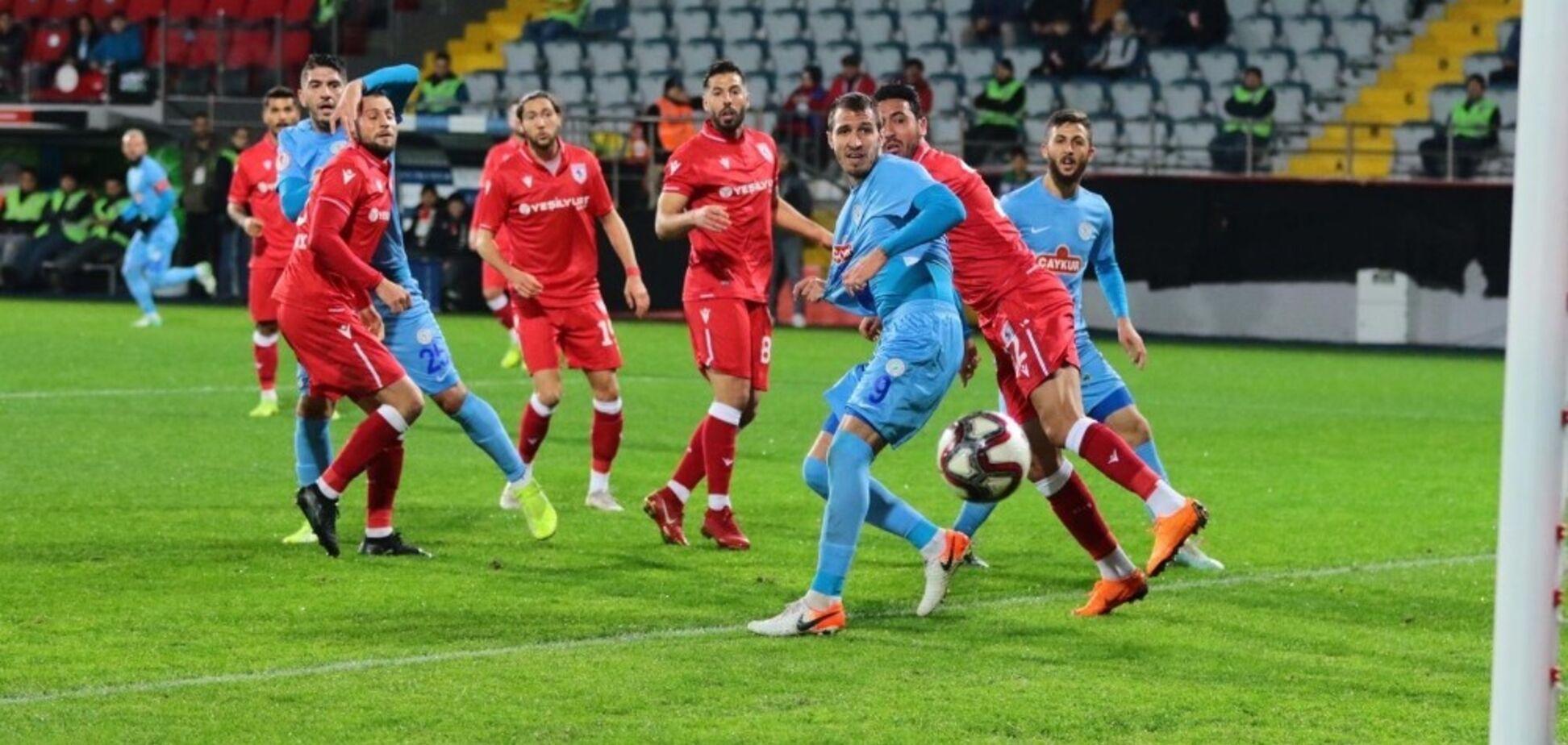 Дебютний шедевр: ексфутболіст 'Динамо' забив фантастичний гол у Туреччині