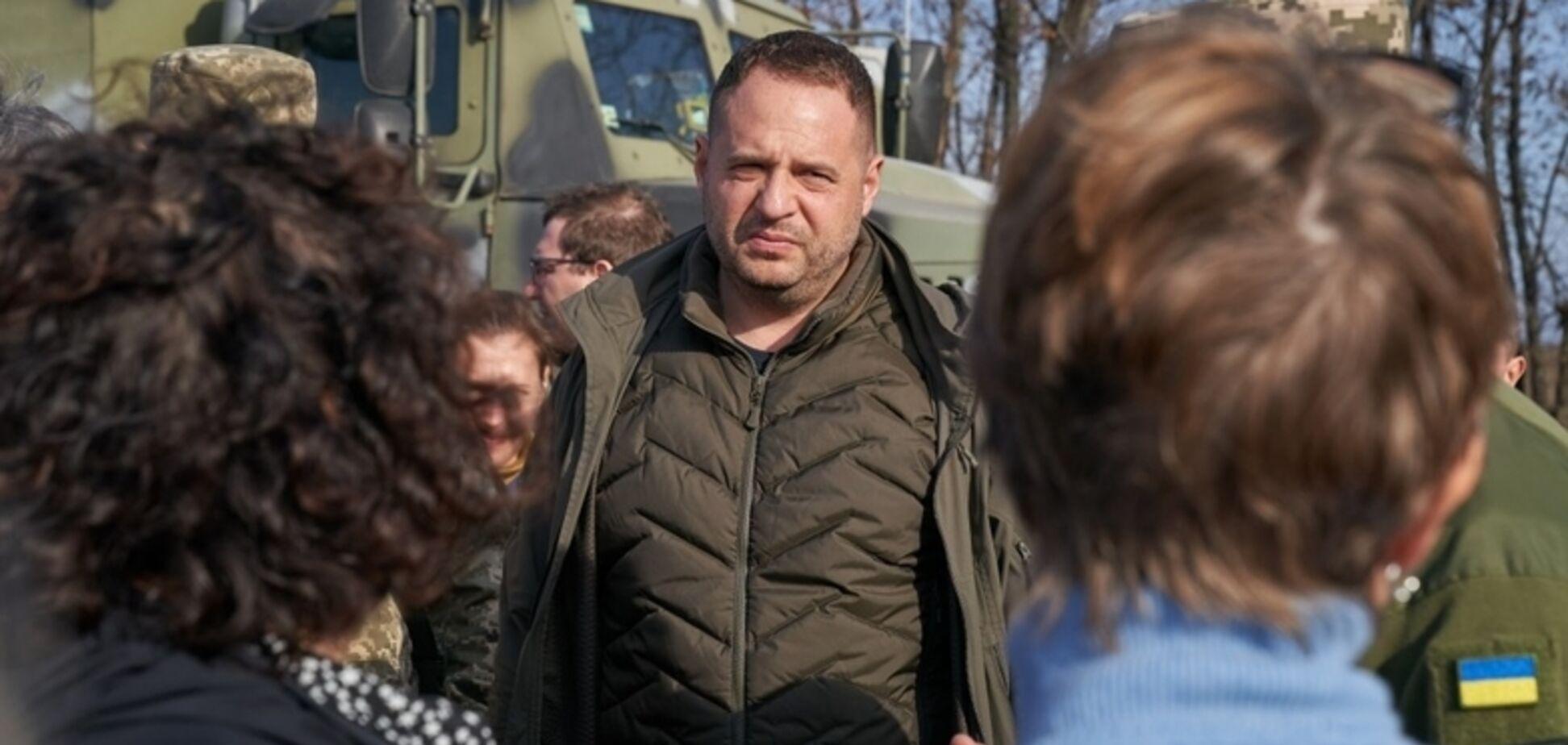 Єрмак підтвердив найгірший сценарій по Донбасу