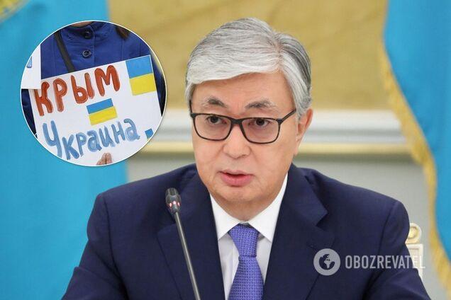 Касим-Жомарт Токаєв заявив, що Росія не анексувала Крим