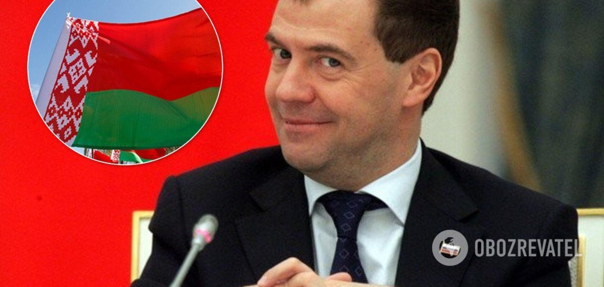 'Не нужно бояться!' Медведев высказался о союзном государстве с Беларусью
