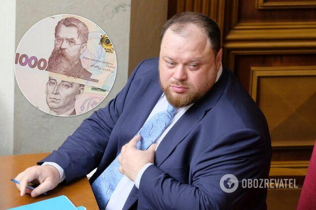 Водночас перший заступник спікера отримав 20,2 тис. гривень компенсації за оренду житла в листопаді