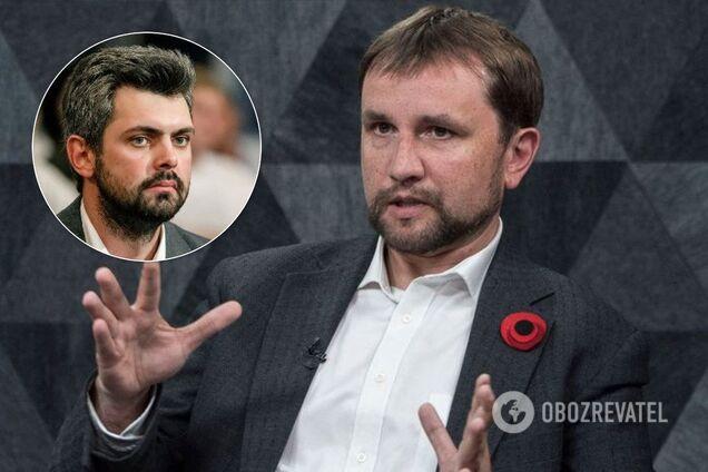 Антон Дробович і Володимир В'ятрович