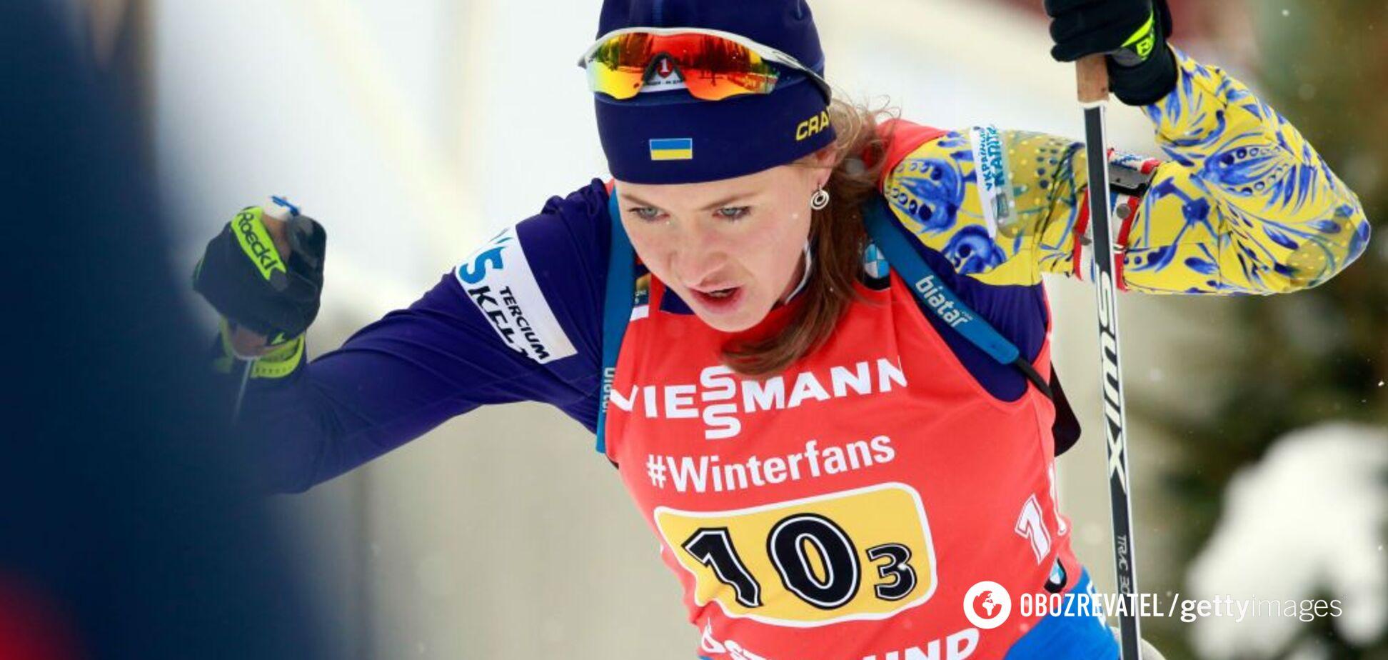 Є медаль! Українка створила грандіозну сенсацію на Кубку світу з біатлону