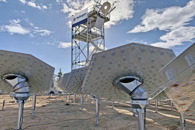 Сонячна електростанція геліотермального типу Heliogen