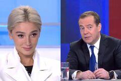 Івлєєва, Батрутдінов та інші: кого несподівано пустили на пресконференцію Медведєва
