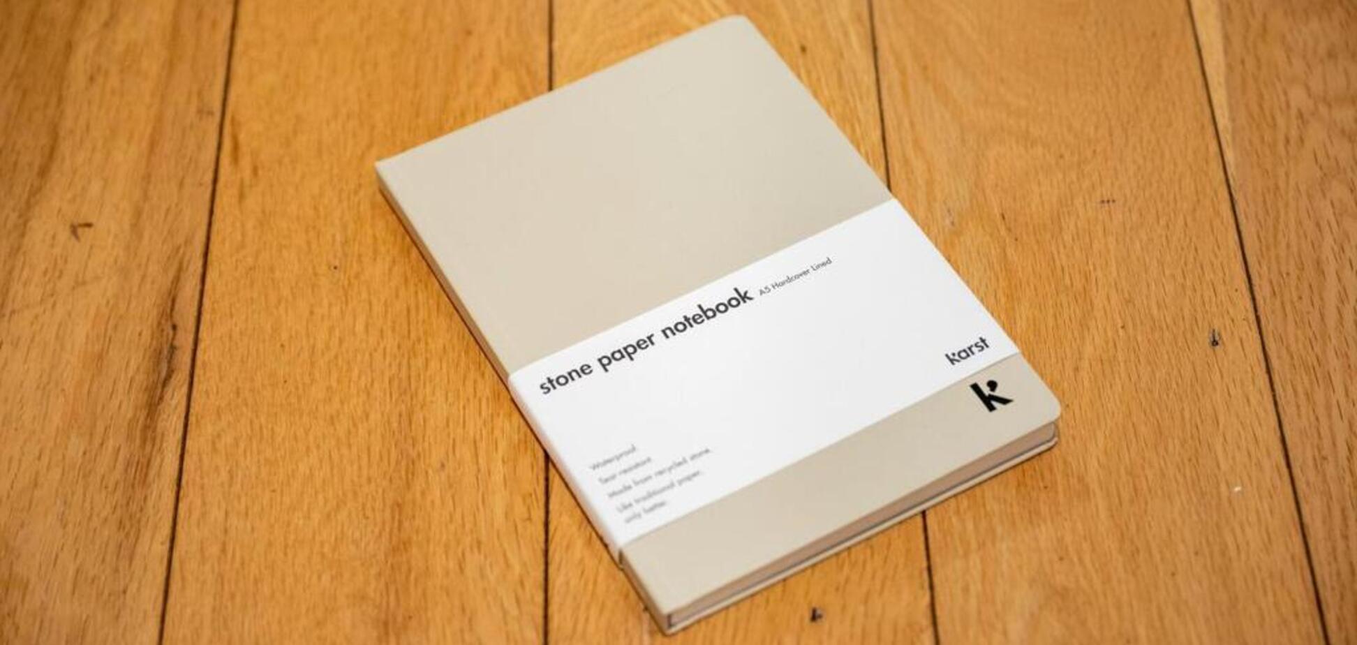 В Австралії створили новий тип паперу з каменю та пластика: фото і відео