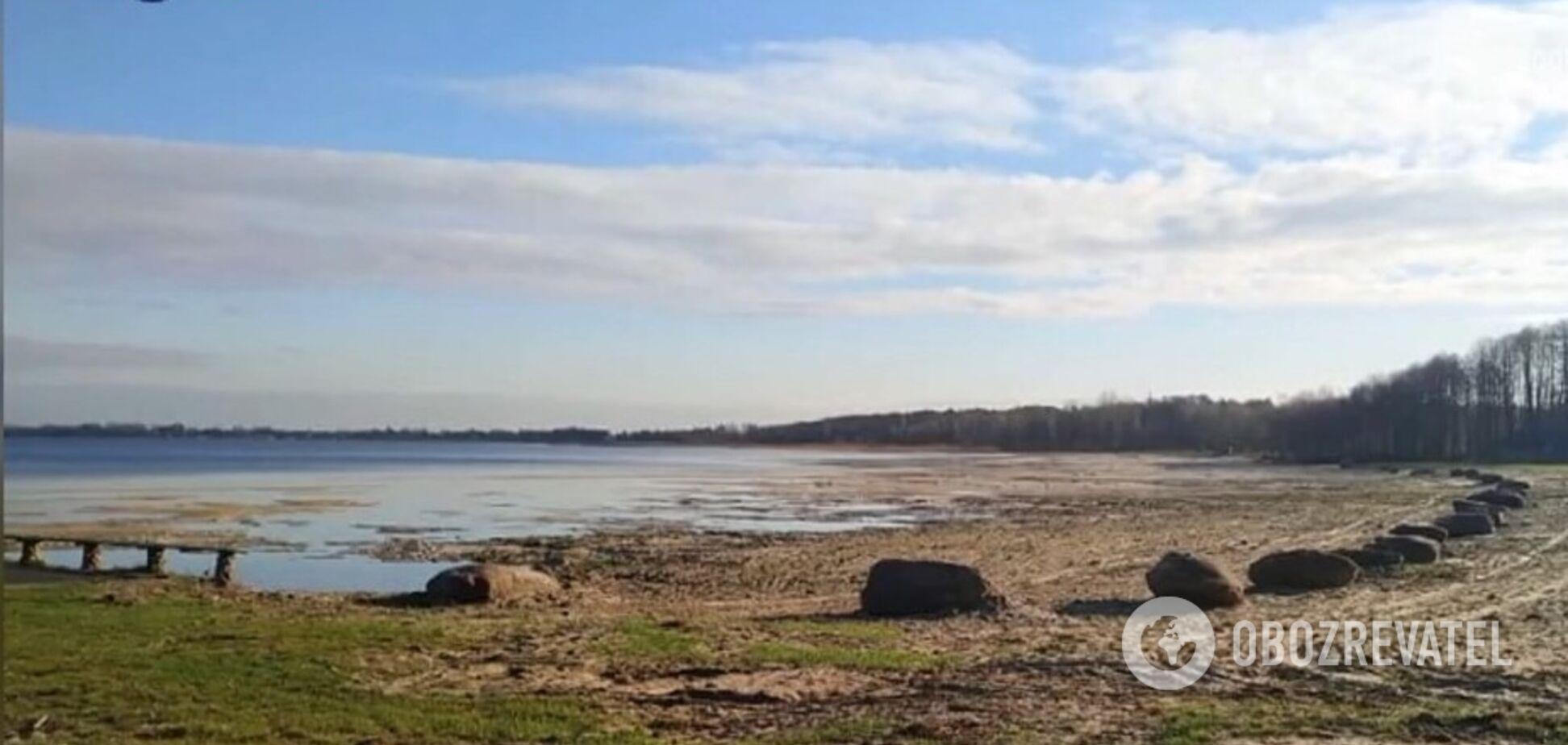 Озеро Світязь втрачає по 10 метрів щодня: коментар еколога