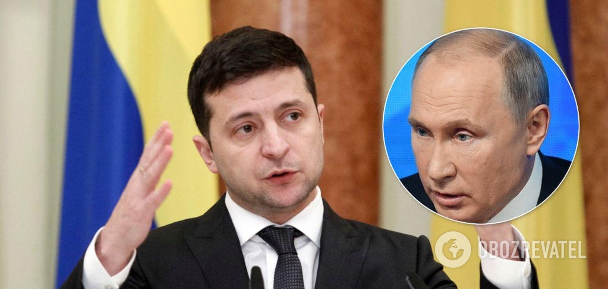 Зеленский предложит Путину 'муниципальную стражу' Донбасса: в Кремле ответили