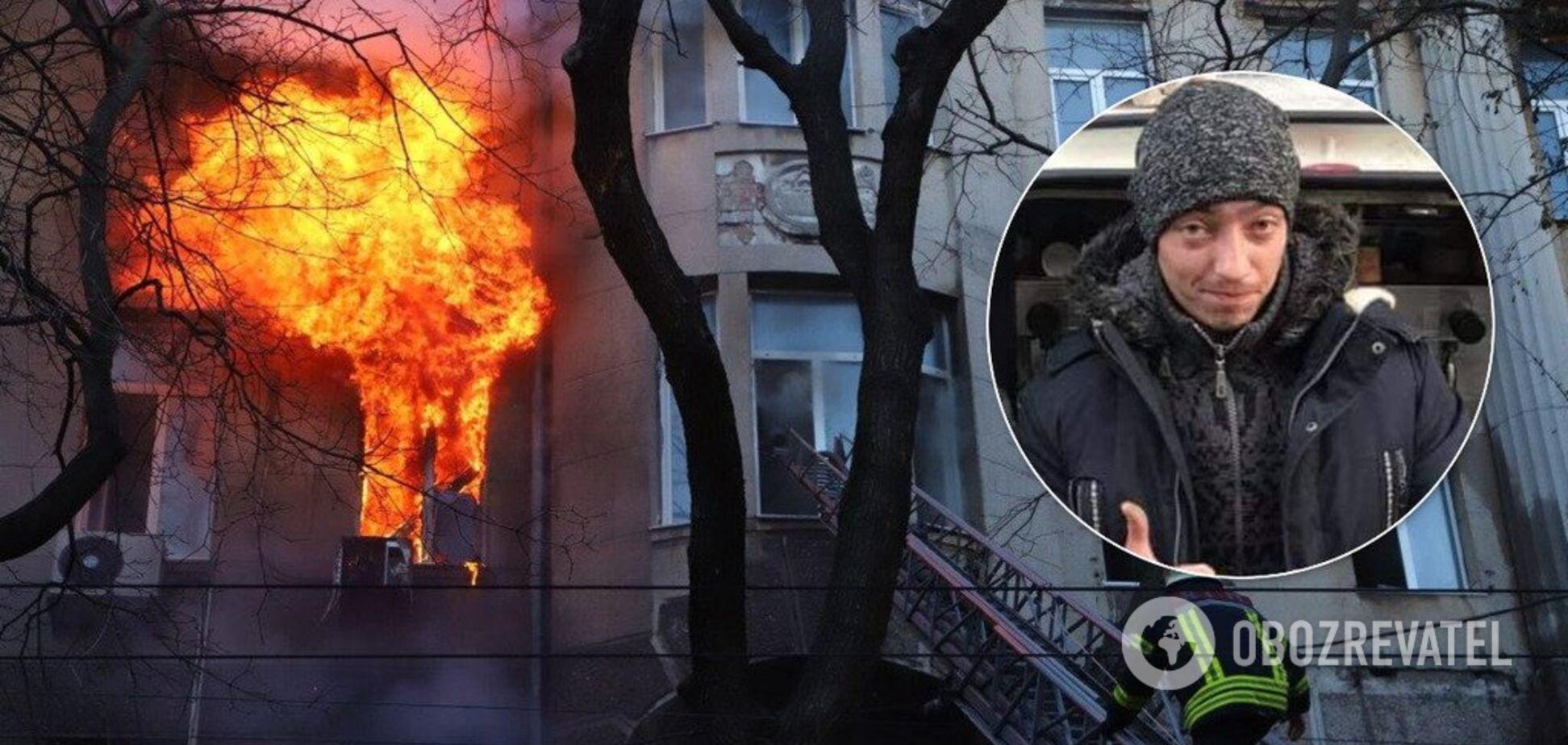 'Герои не носят плащи!' Одессит поразил украинцев поступком после страшного пожара