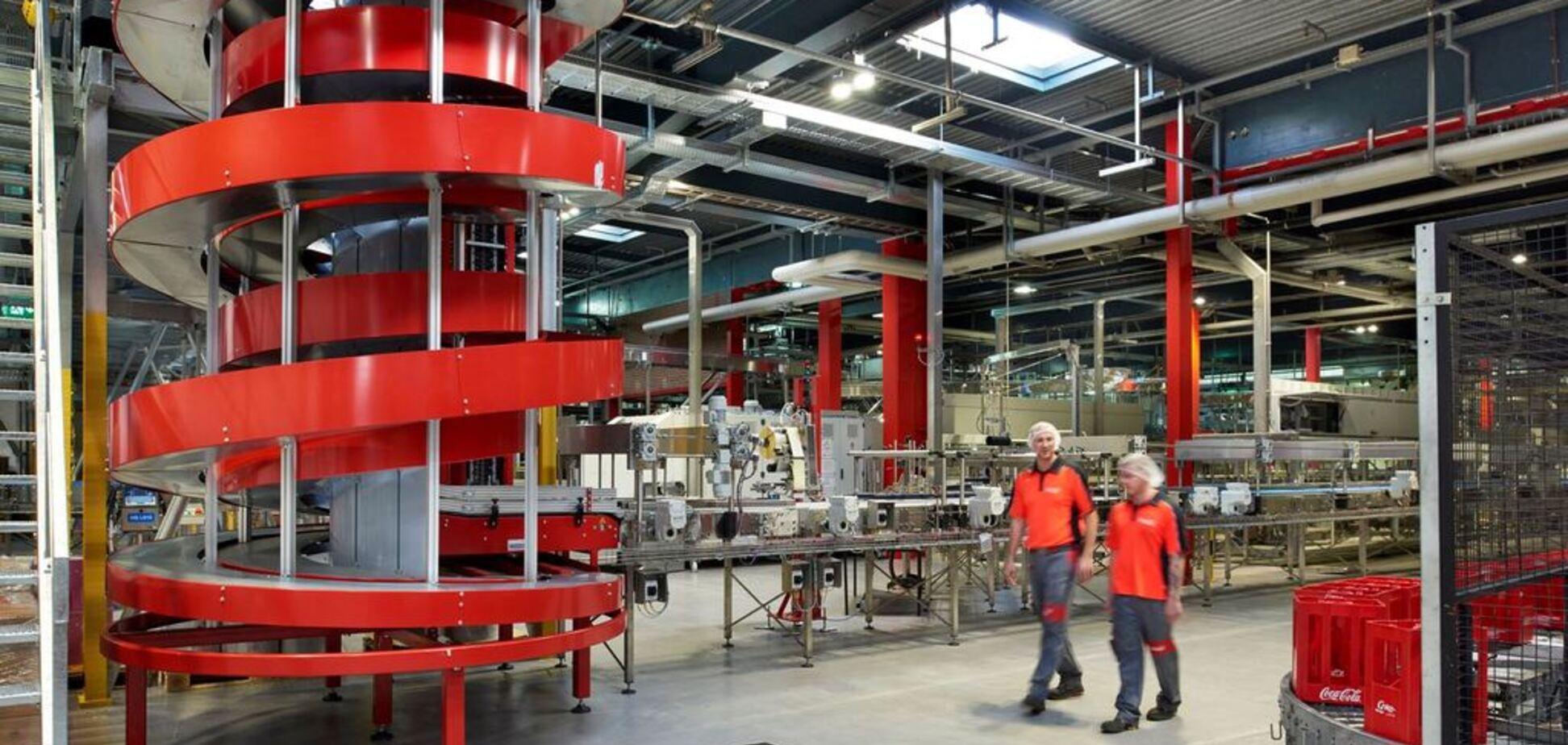 Coca-Cola приобщилась к 'зеленым' трендам: на заводе установили уникальное оборудование