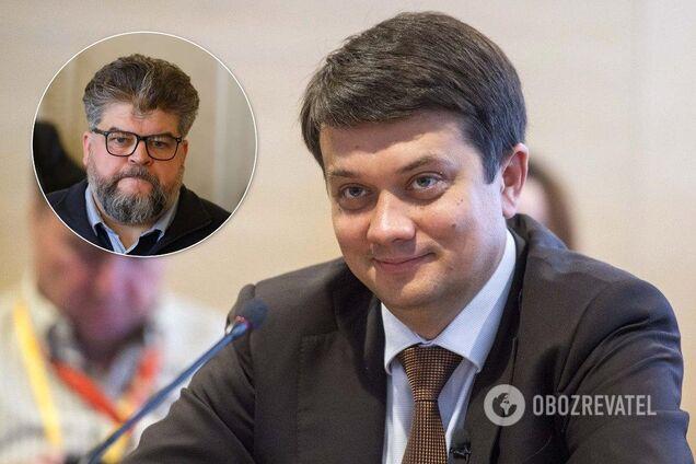 Разумков сказав, чому Яременко все ще в Раді