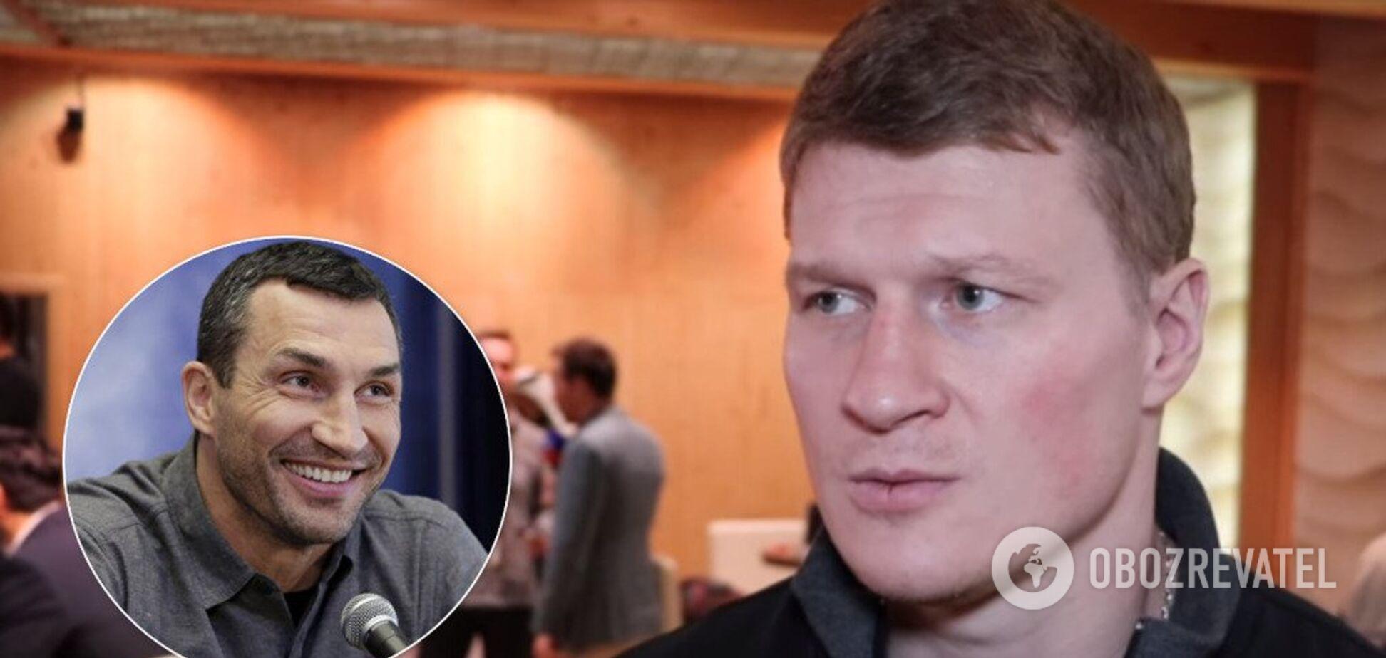 'Это его решение': Поветкин высказался о реванше с Кличко