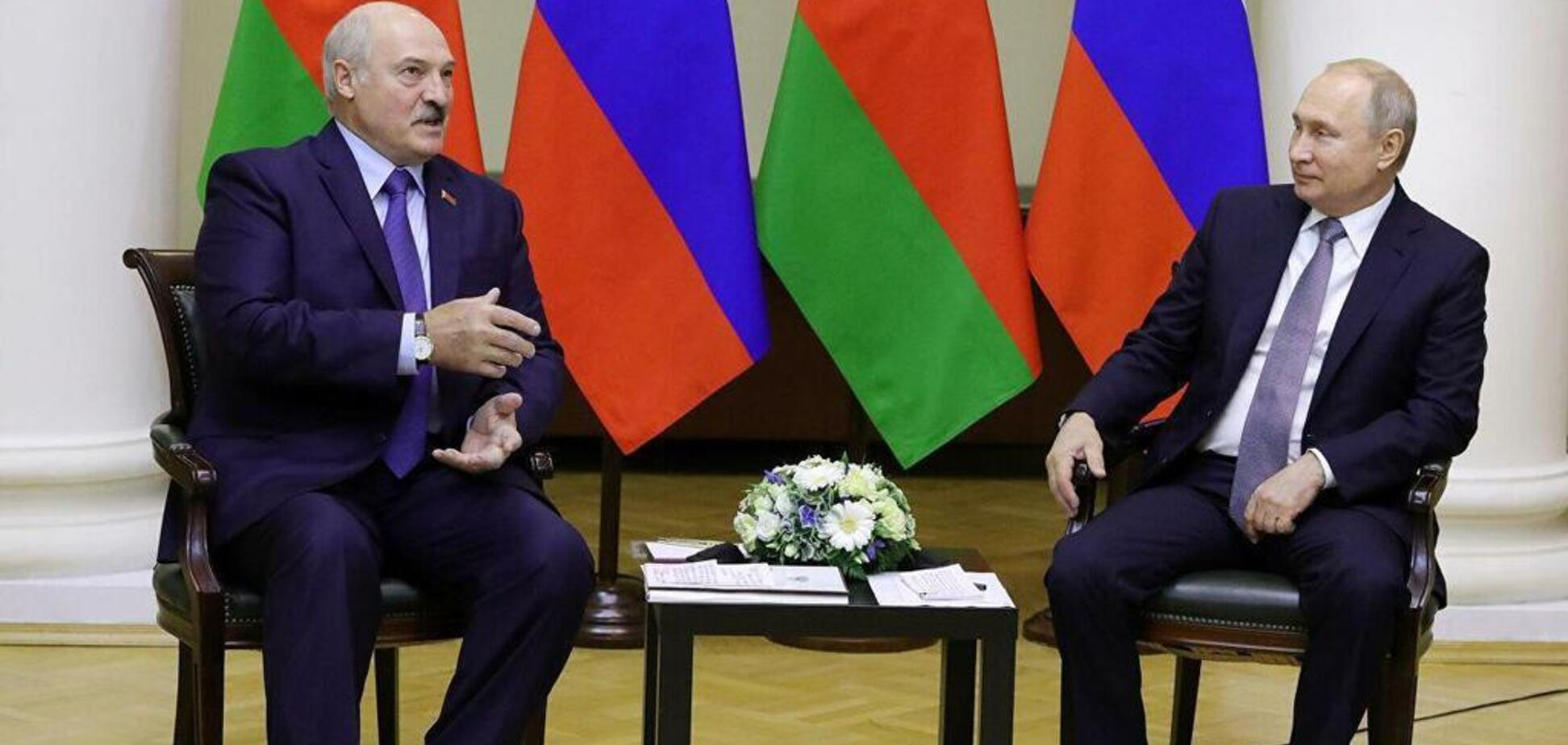 'Багато чого вже зроблено': Лукашенко на зустрічі з Путіним зробив гучну заяву про інтеграцію