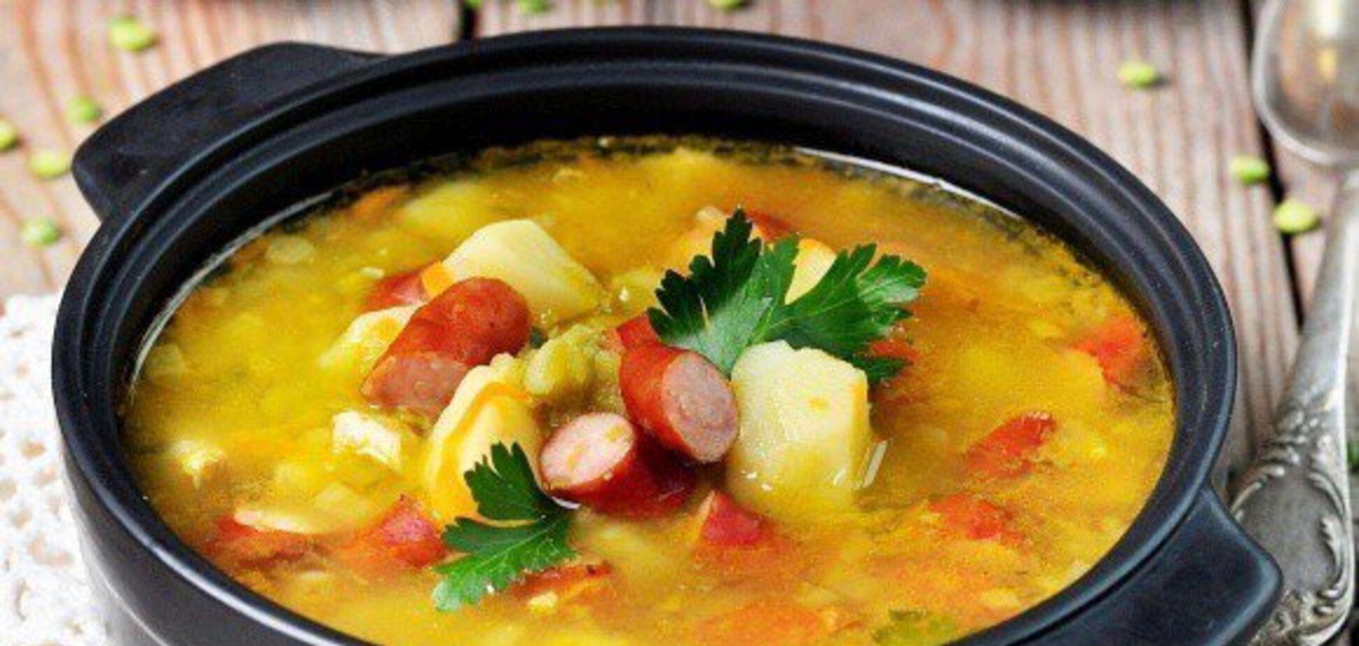 Восхитительный сырный суп с колбасками: простой рецепт
