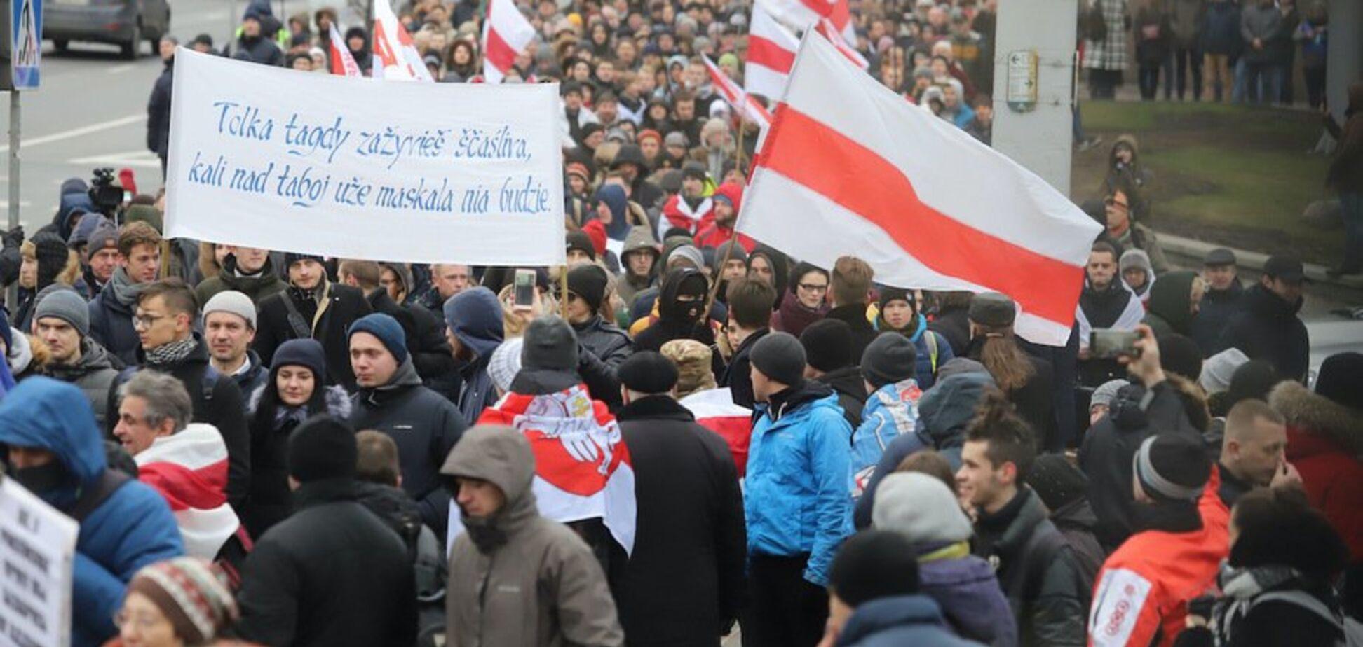 Білорусь охопили нові протести проти союзу з Росією: всі подробиці, фото і відео