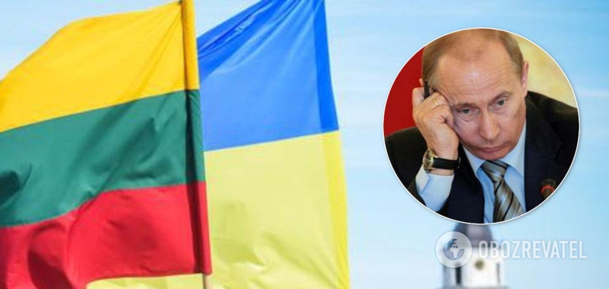 У Литві поставилиПутіна на місце перед самітом в Парижі