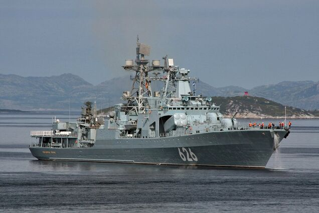 Военные корабли Путина попали в серьезную передрягу