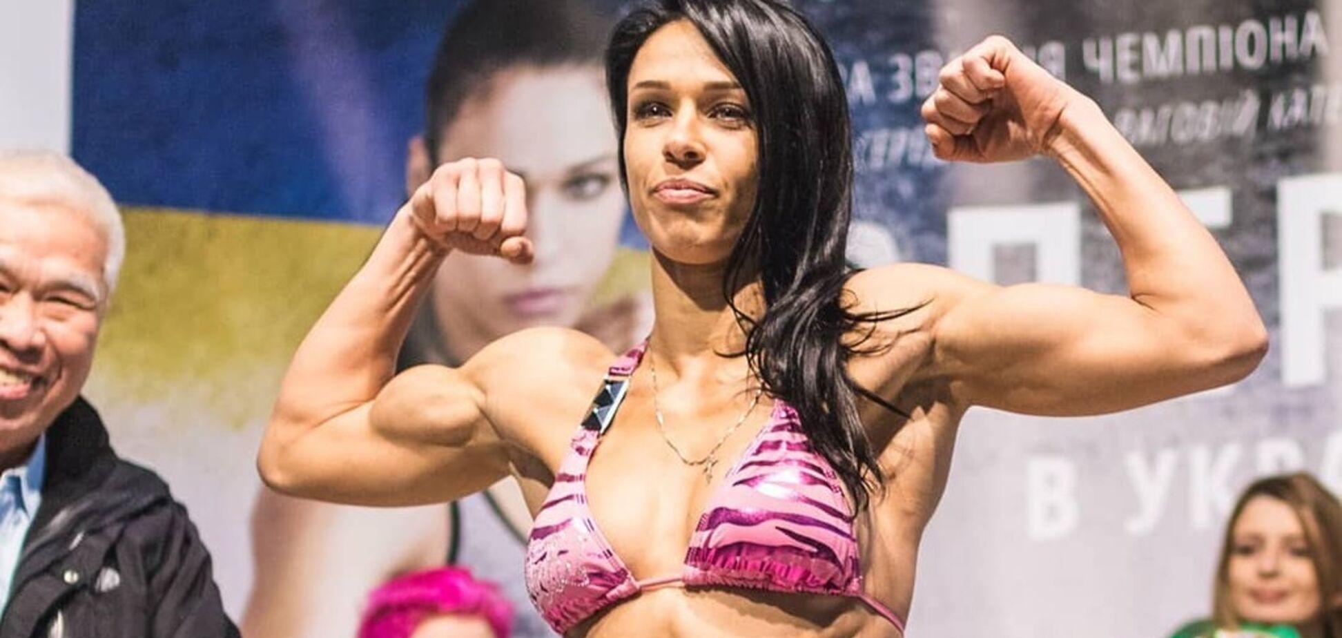 Красуня-українка з нокдауном стала чемпіонкою світу з тайського боксу