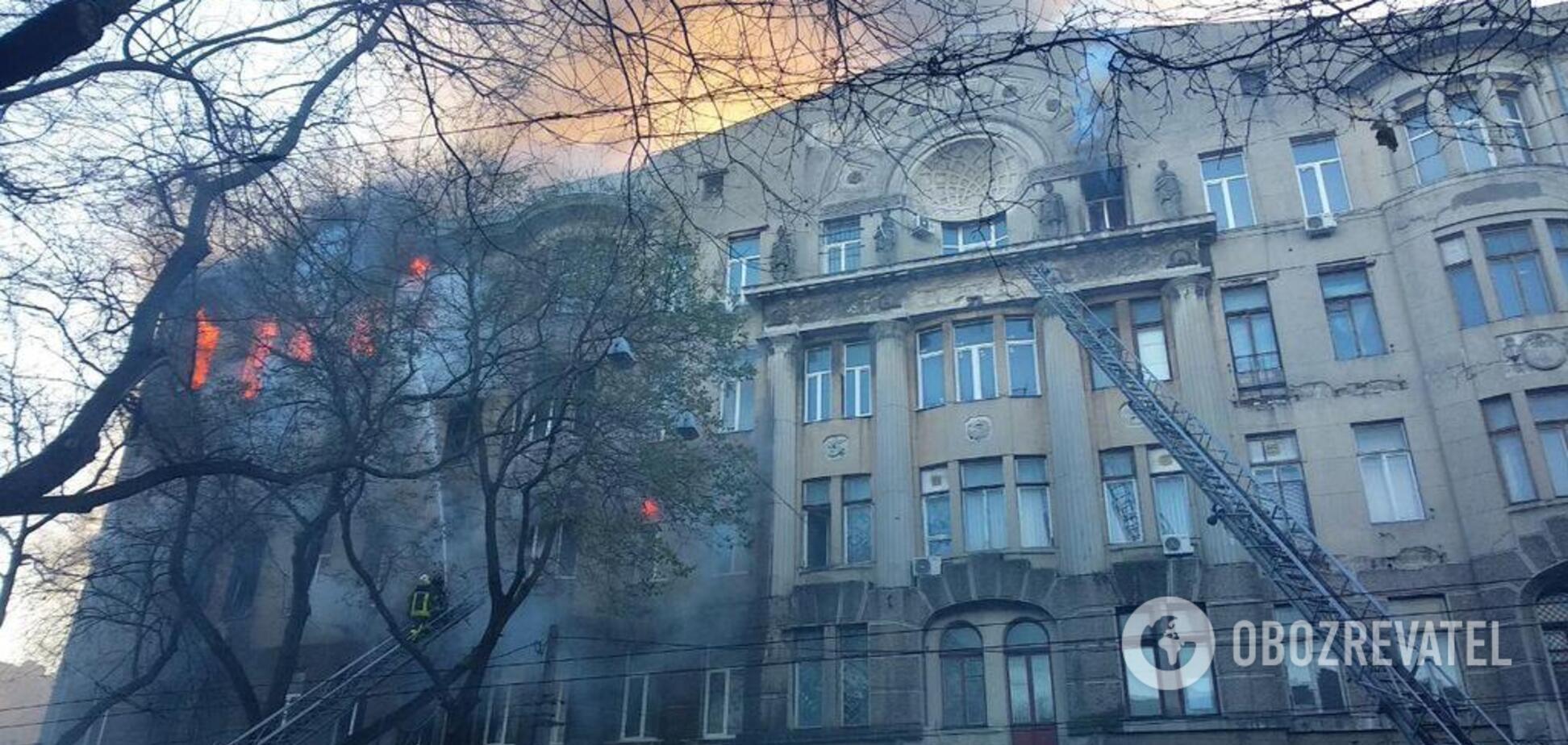 Зросла кількість жертв страшної пожежі в Одесі