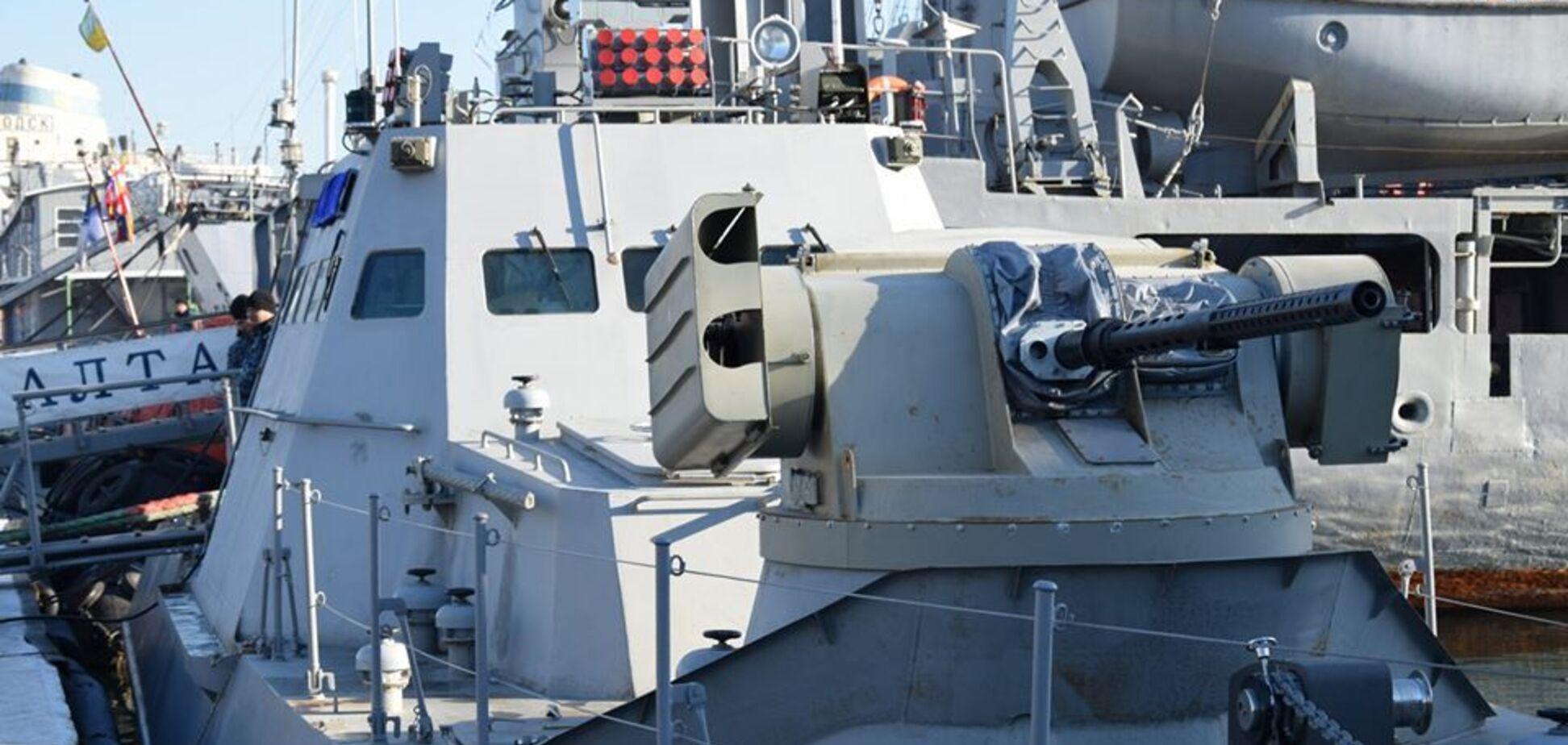 Пулеметы и ракеты: Украина усилила военную мощь в Азовском море
