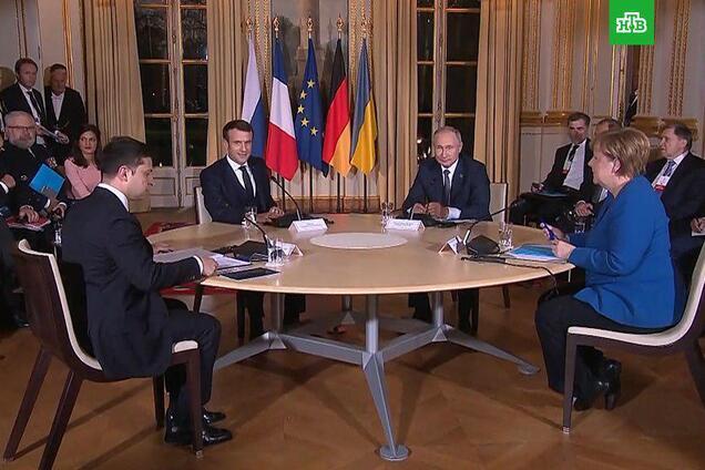 """Зустріч лідерів """"нормандської четвірки"""" в Парижі"""