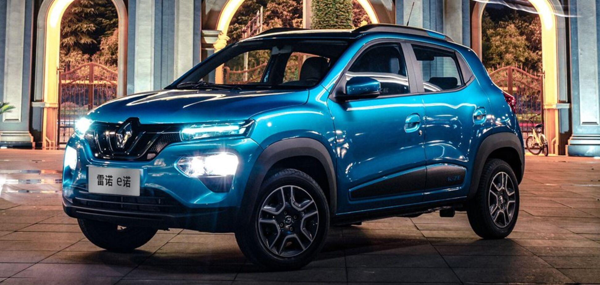 Renault предложит в Европе электрический кроссовер за 9000 евро