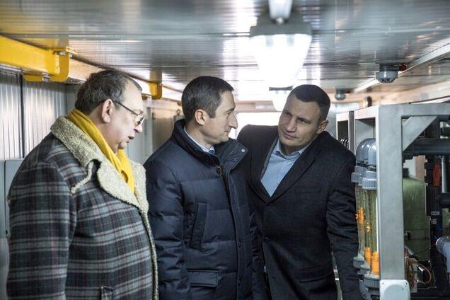 Віталій Кличко під час підписання меморандуму між столицею та владою Київської області