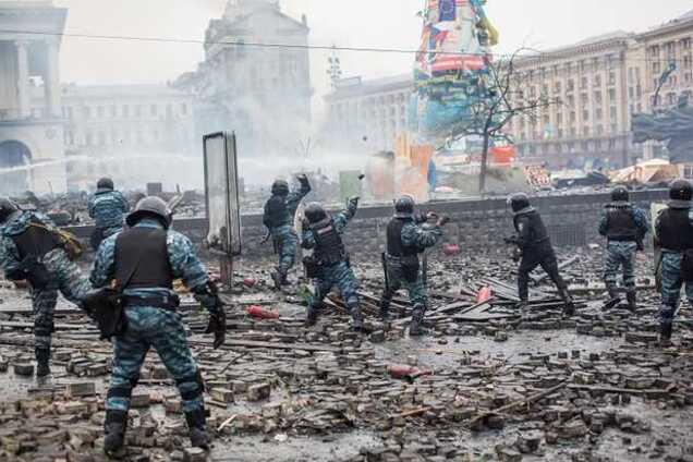 Ілюстрація. Події на Майдані