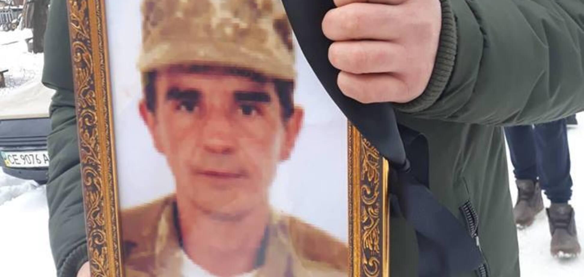 Труну несли на руках: трагічно помер воїн АТО, нагороджений Порошенком