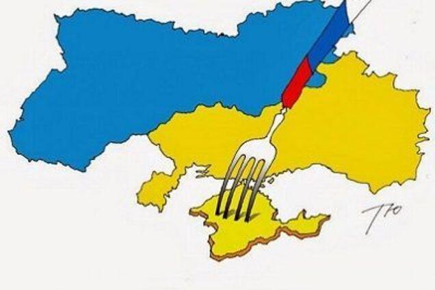 Россия, подавившаяся Украиной photo