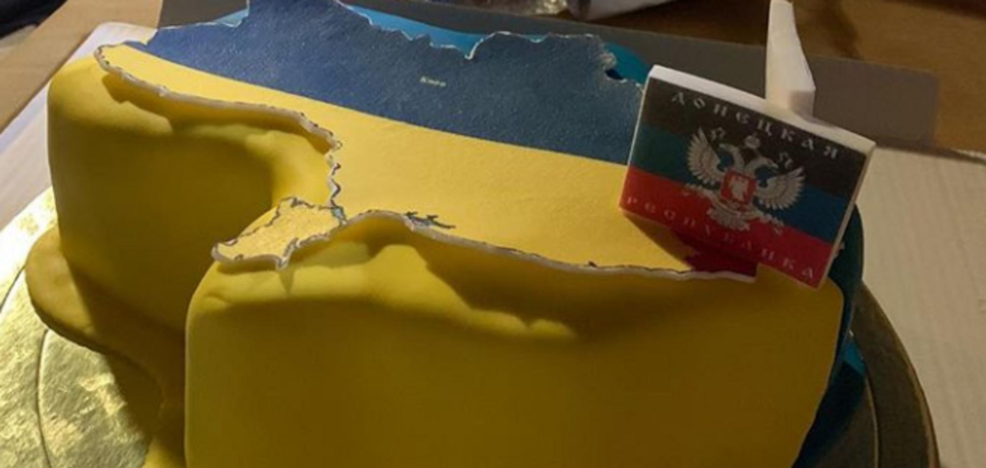 ''СССР и Монголия – украинский мир?'' Журналистка затроллила пропагандистов Кремля за торт для Омеляна