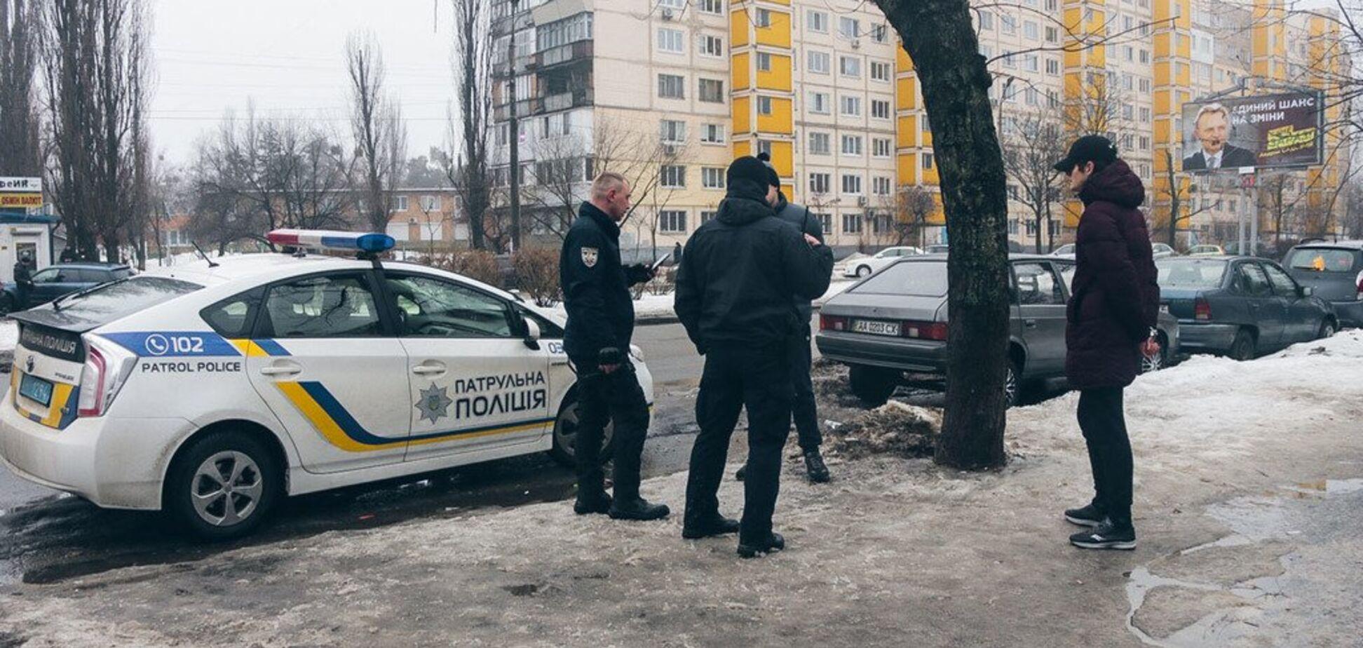 Попали в глаз ребенку: в Киеве возле супермаркета произошла стрельба